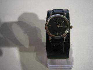 Bergmann 1961 - - Armbanduhr Rund - Damen Pu - Lederarmband Quarz Top Rar Bild