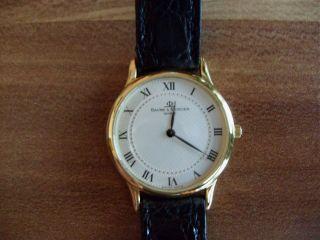 Baume & Mercier Damenuhr Classima,  750 Gold Bild