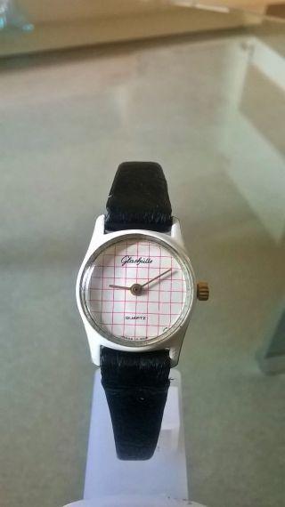 Glashütte Damen Armbanduhr Quarz Bild