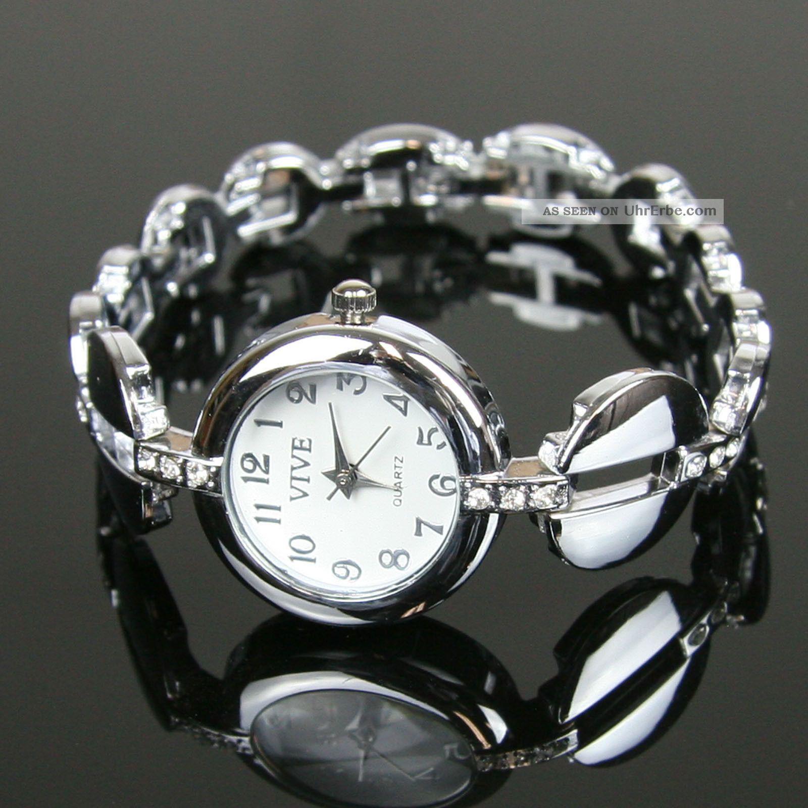edle damenuhr armbanduhr uhr uhren damen mit strass edelstahl schwarz watch. Black Bedroom Furniture Sets. Home Design Ideas