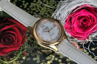 Kienzle Damen Uhr Automatik Rosè Vergoldet Mit Lederarmband V83092142710 Bild