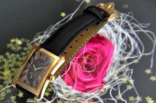 Kienzle Damenuhr Quartz Uhr Rosè Vergoldet Mit Lederarmband V83092343970 Bild