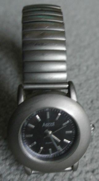 Armbanduhr,  Ascot Design Serie 1201g,  Stainless Steel,  Getragen Bild