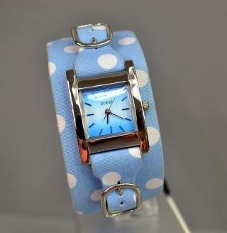 Guess Damenuhr Damen Uhr Blau Bild