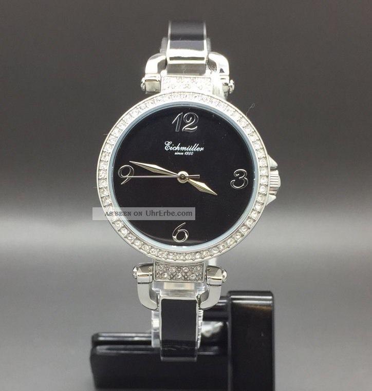 Eichmüller Uhr Damenuhr Keramikarmband Keramikuhr Armbanduhr Watch Quarzuhr Uhr Armbanduhren Bild