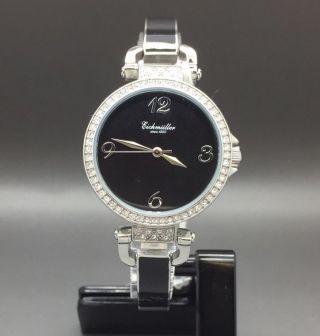 Eichmüller Uhr Damenuhr Keramikarmband Keramikuhr Armbanduhr Watch Quarzuhr Uhr Bild