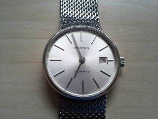 Juvenia Swiss Made Damenuhr Mit Datumsanzeige Chronograph Bild