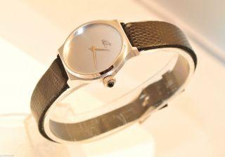 Zentra (dez) - Damenarmbanduhr / Handaufzug / Lederarmband Bild