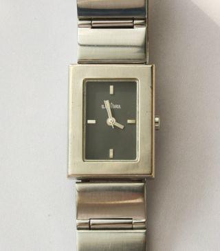 Damenuhr S.  Oliver Edelstahl Armband Miyota 1l32 Werk Mit Neuer Batterie.  Top Bild