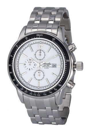 Eichmüller Herrenuhr Edelstahl Chronograph Men´s Watch Steel 10atm Miyota Os10 Bild