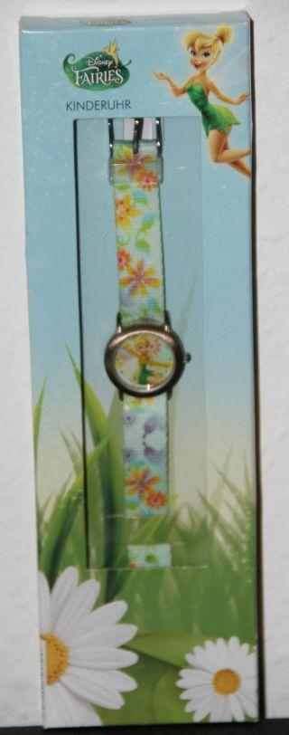 Disney Faires Kinderuhr Uhr Armbanduhr Mit Textilarmband Bild