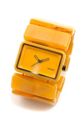 Nixon Vega Armbanduhr,  Goldenrad/marble _94887 Bild
