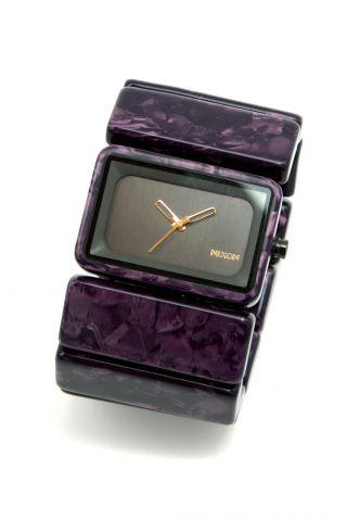 Nixon Vega Armbanduhr,  Gunmetal/velvet _910012 Bild