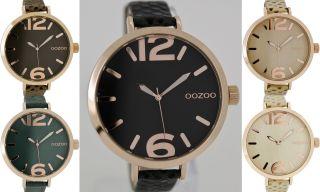 Oozoo Design Uhr Xxl Ø45mm Elegant 6830 Bild