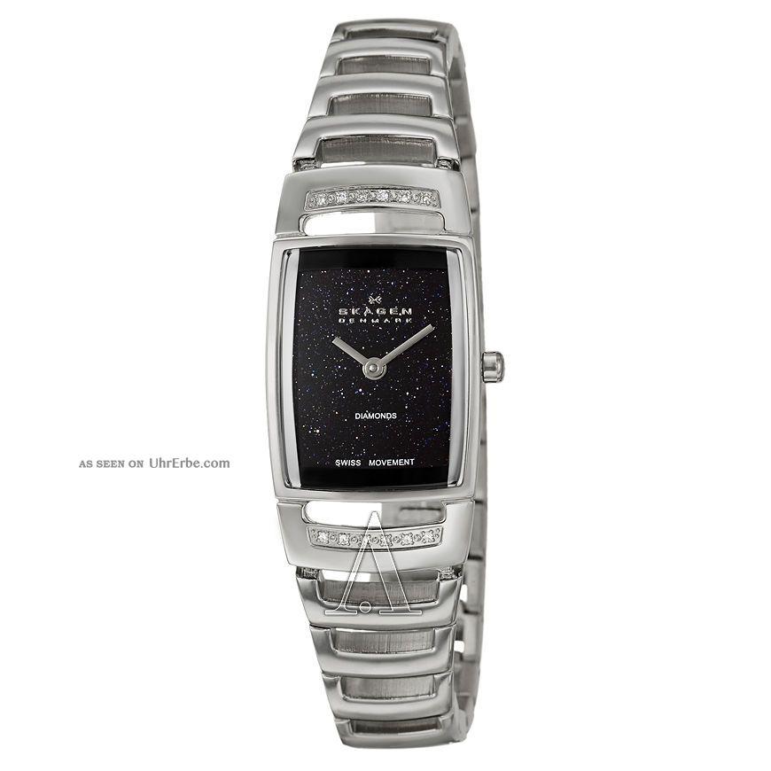 Brandneu Skagen Damen - Armbanduhr 985ssxn,  RegulÄr 300€ Armbanduhren Bild