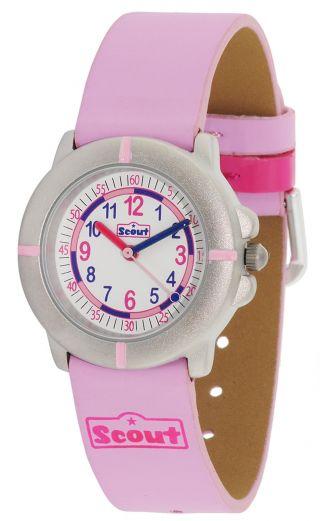 Scout Uhr Meine Erste Mädchenuhr Pink 390010 Bild