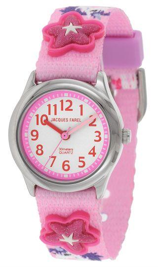 Jacques Farel Uhr Armbanduhr Für Mädchen Hbwa3134 Bild
