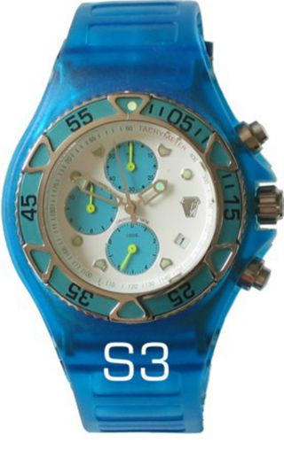 Technomarine Chrono,  Lightblue Ap,  Inkl.  Porto Bild