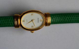 Uhr Damenarmbanduhr Armband Schlange Gehäuse Vergoldet Elysee Bild