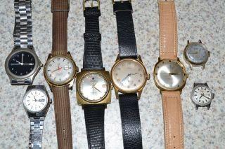 Armbanduhren Konvolut Z.  B.  Junghans,  Exquisit,  Roamer,  Otha,  Anker,  Citizen. Bild