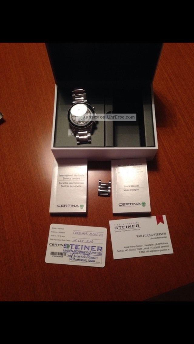 Certina Ds2 Precidrive Armbanduhren Bild