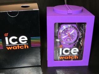 Ice Watch In Purple Uni Im Würfel (spardose) Und Handy Anhänger Bild