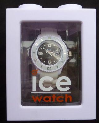 Ice Watch Si.  Wk.  S.  S.  10 Sili White Black Swarovski Elemente Neu/ovp Bild