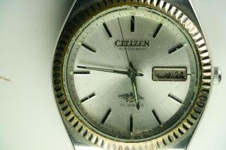 Citizen Automatic Eagle 7 71 - 2973 Gn - 4w - S Vintage Bild