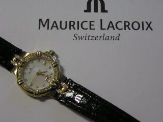 Damenarmbanduhr Maurice Lacroix Gold - Und Brillantentraum Bild