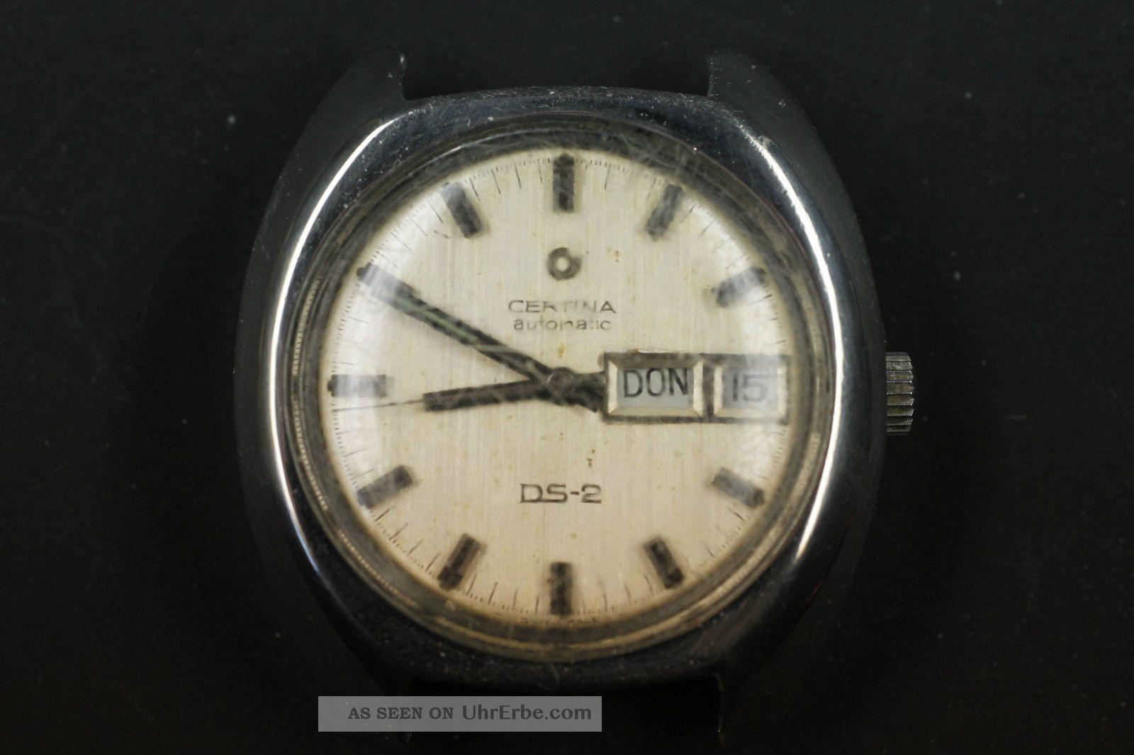 Certina Ds - 2 Automatic Taucheruhr Armbanduhren Bild