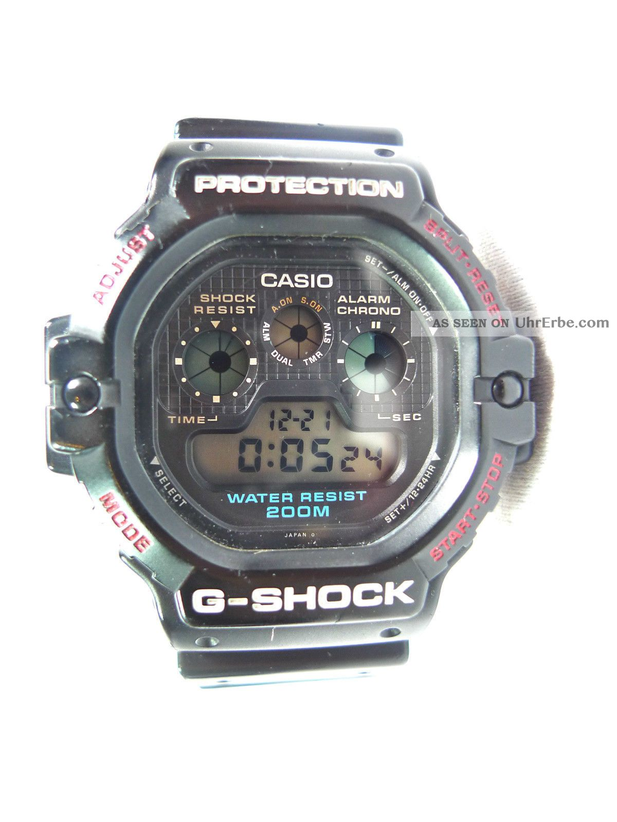 vintage casio g shock dw 5900 c 1 watch uhr the. Black Bedroom Furniture Sets. Home Design Ideas