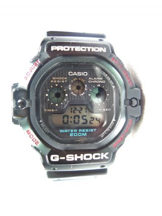Vintage Casio G - Shock Dw - 5900 C - 1 Watch Uhr - The