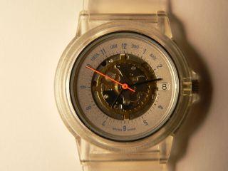 Armbanduhr Fortis Logo Space Matic Transparent Bild
