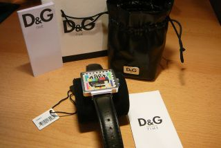 Top Weihnachtsgeschenk Dolce & Gabbana Uhr Mit Etikett Bild
