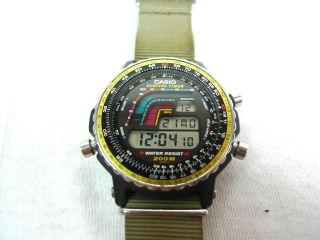 Vintage Casio Dw 403 Surfing Timer Watch Uhr - 906 Module - Rare Bild