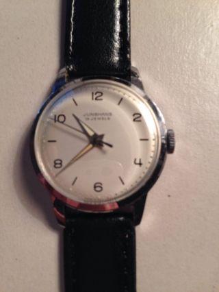 Junghans Max Bill Design Uhr,  Ca.  1965,  Handaufzug Bild