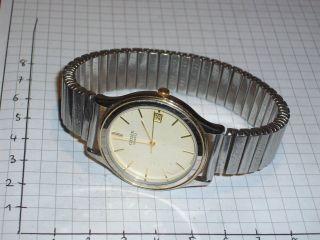 Citizen Quartz Uhr Mit Datum Bild
