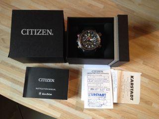 Citizen Promaster Bn4021 - 02e Altichron Eco - Drive Solar / Gekauft 03/2014 Bild