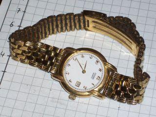 Citizen Quartz Uhr Mit Datum Tolles Armband Bild