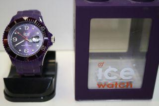Ice Watch Uhr Lila Violett Box Top Modisch Must Have Wie Bild