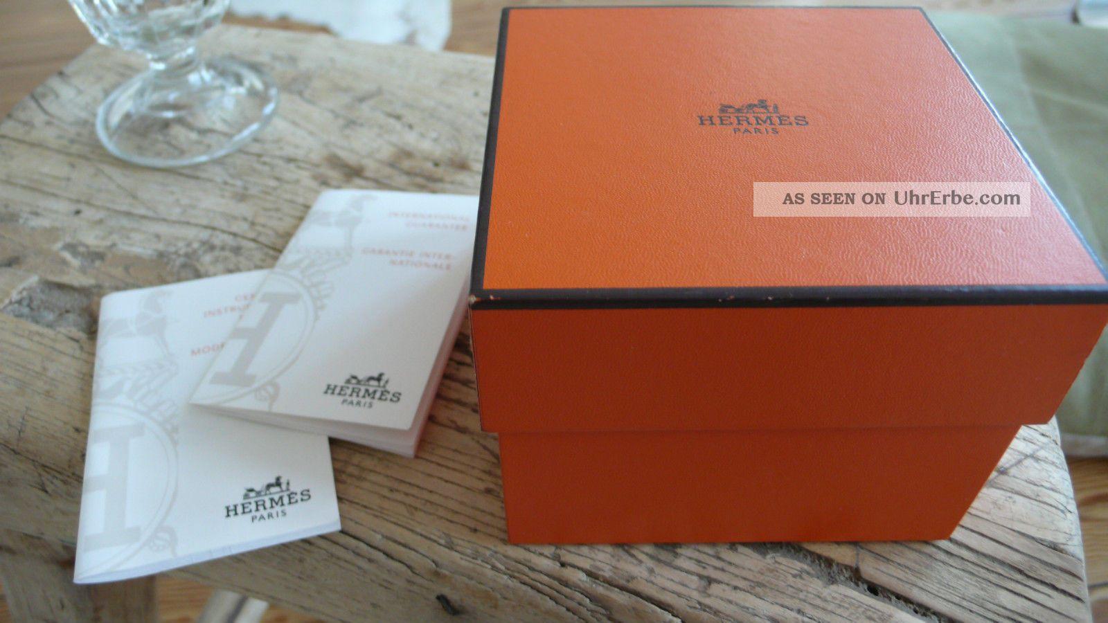 herm s hermes paris cape cod montre uhr automatic mit box. Black Bedroom Furniture Sets. Home Design Ideas