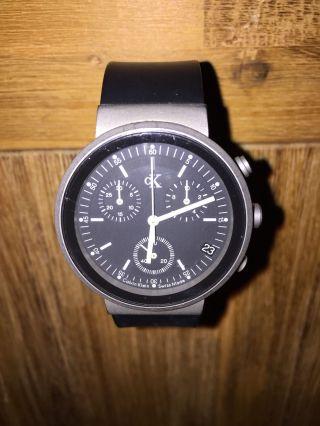 Calvin Klein Uhr,  Chronograph K2182 Bild