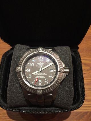 Breitling Avenger Seawolf Armbanduhr Titan Bild