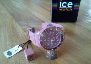 Orig.  Ice - Watch Chocolate - Caramel - Big & Ungetragen Ohne Schmuckbox Bild