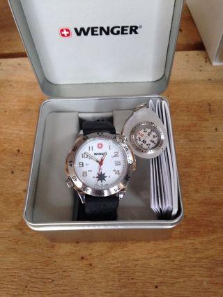 Wenger Compass Nacigator Kompass Uhr Bild