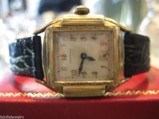 Unisex Waltham Vintage Armbanduhr Bild