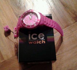 Orig.  Ice - Watch Armbanduhr Solid Pink & Ungetragen Ohne Schmuckbox Bild