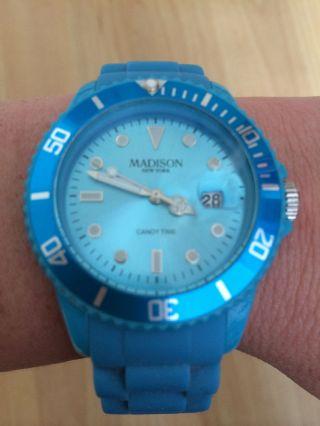 Madison Uhr - Blau Bild