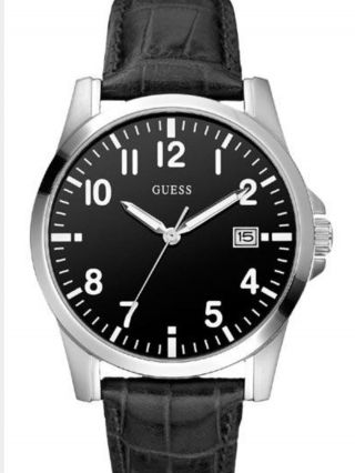 Guess Uhr Armband Schwarz Neuwertig Bild