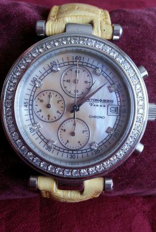 Armbanduhr Uhr Newton & Sones Neuwertig Bild
